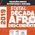 Edital da Década Internacional Afrodescendente 2019