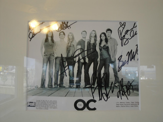 redondo beach coffee and bait restaurant OC autographs