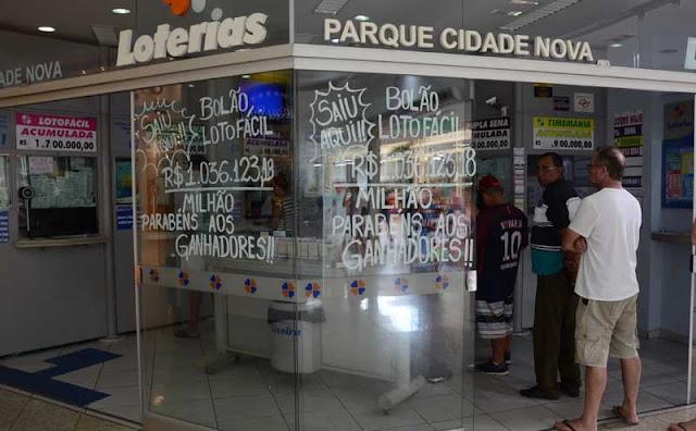 Cinco apostadores de Mogi-Guaçu faturam mais de 1 milhão na Lotofácil