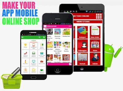 Aplikasi Belanja Online di Android