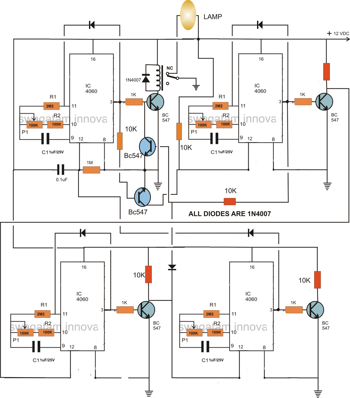 Switch Circuit Diagram as well 55ml21 in addition Schmitt as well Rt424024 besides 79ij98. on transistor switch circuit relay