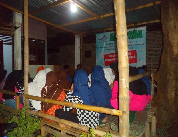 Suasana Belajar di Kelas Al-Aqsha Pare