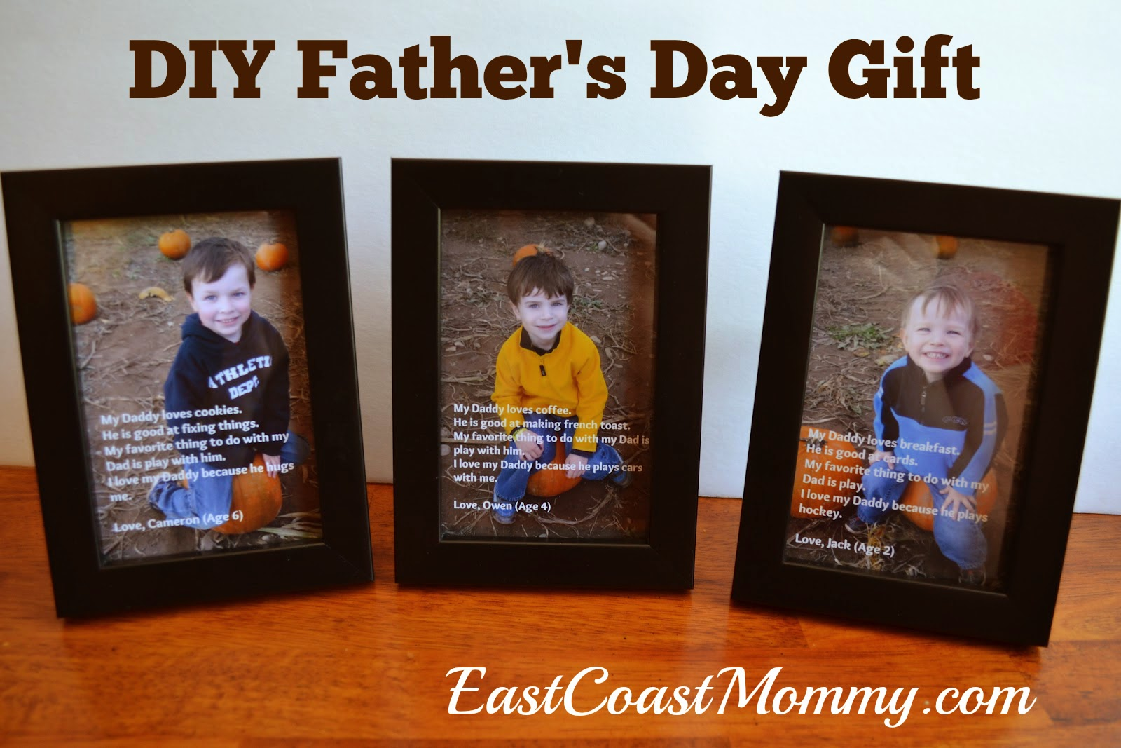 East Coast Mommy Diy Fathers Day Gift