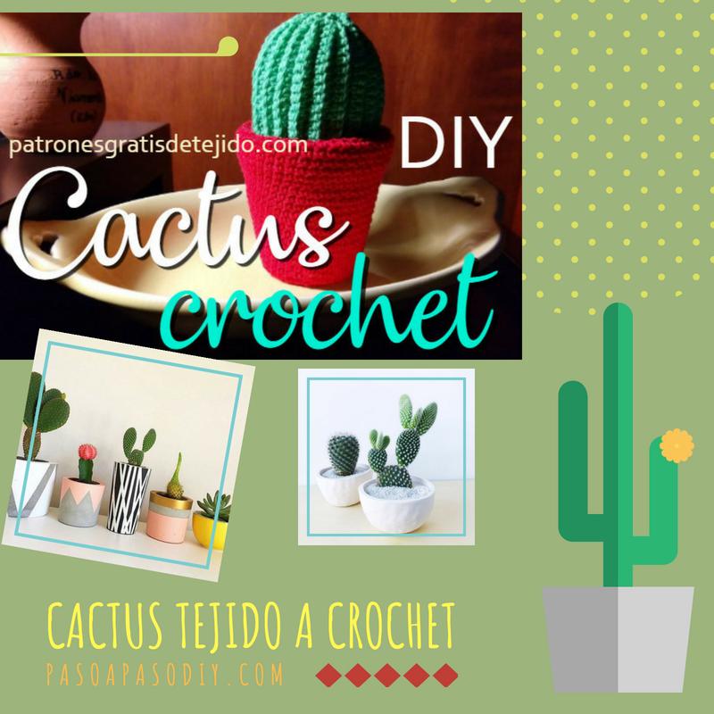 tutorial amigurumi cactus # 1 || misyelshin crochet - YouTube | 800x800