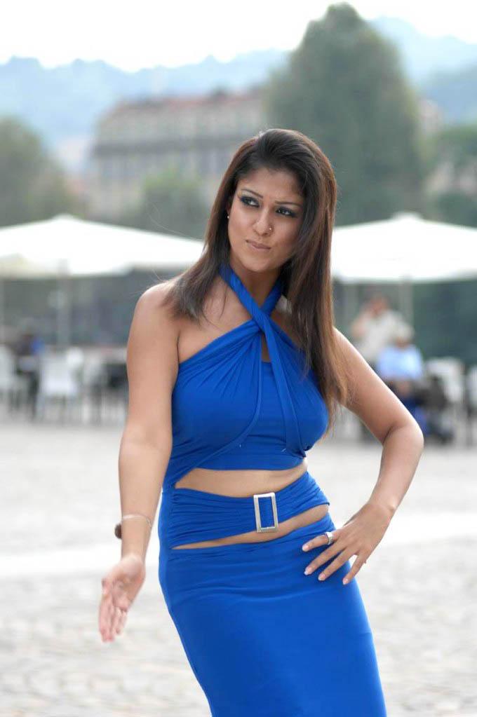 Indian Actress South Indian Actress Nayantara Hot Boobs -5692
