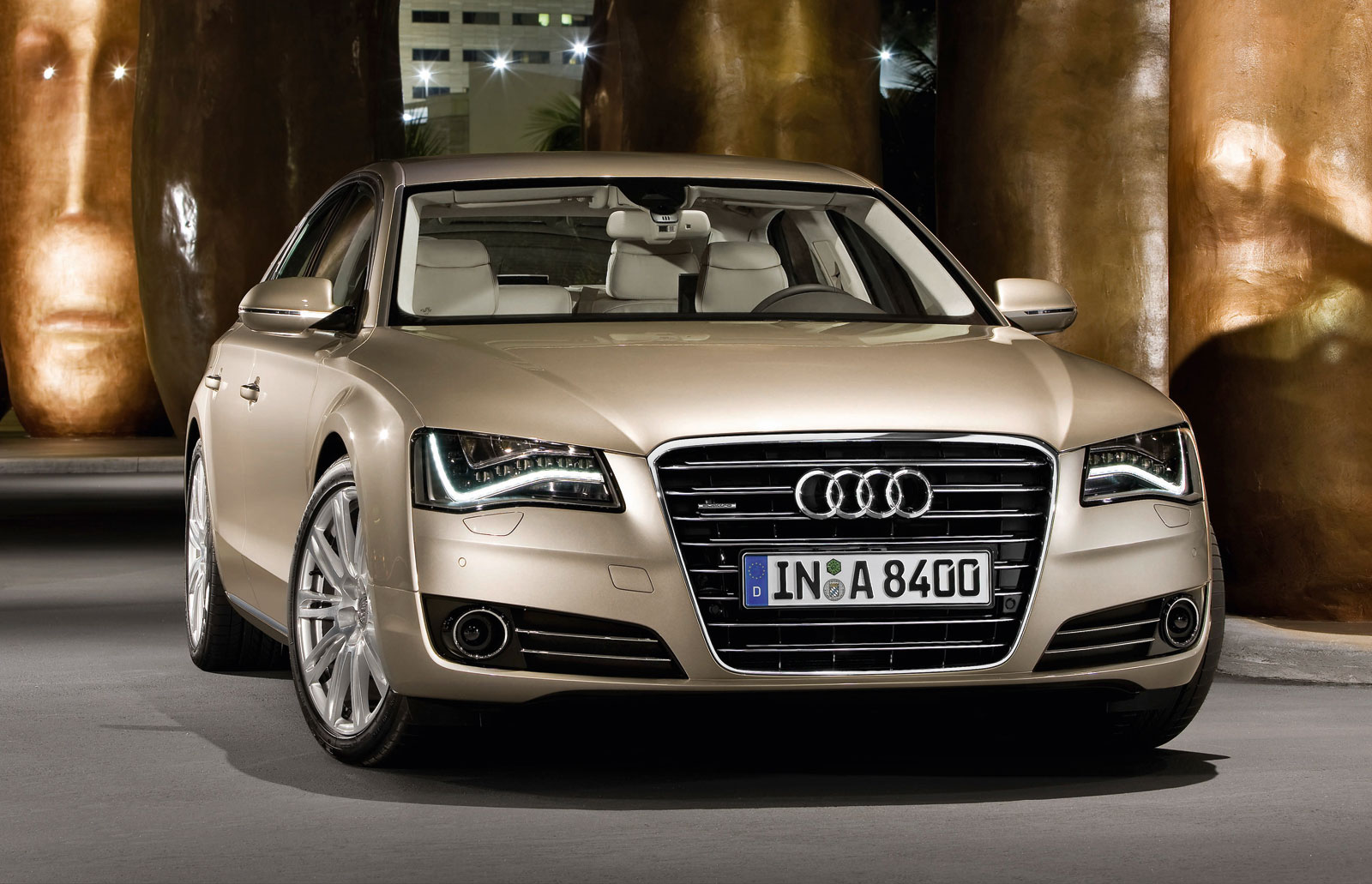 sport cars  audi a8 hd wallpapers 2011