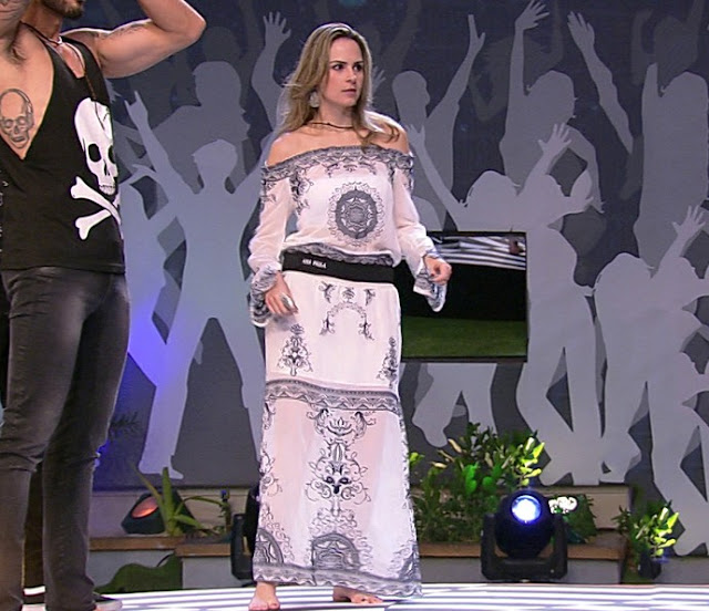 Ana Paula bbb16 vestido hippie