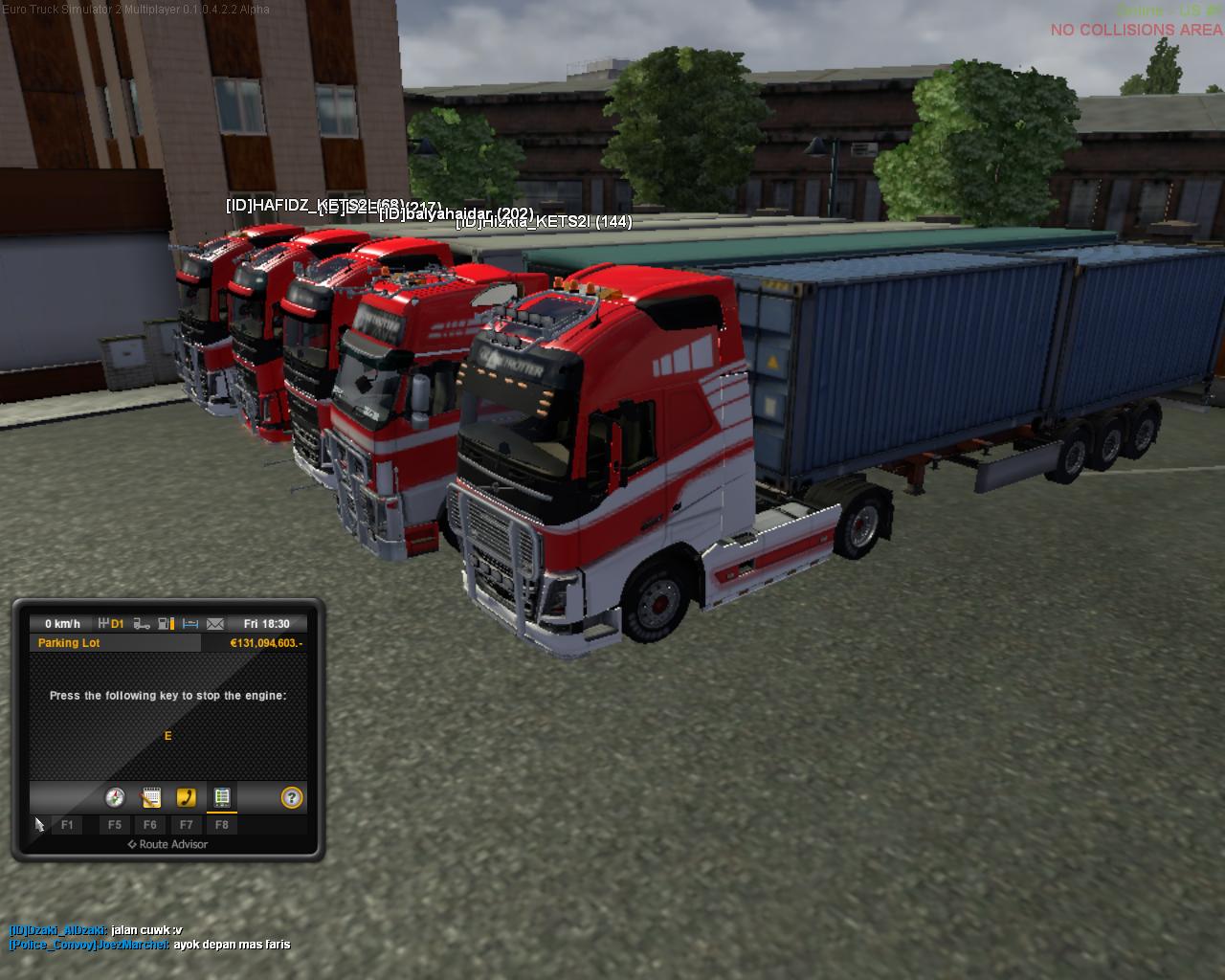 Cara Bermain Euro Truck Simulator 2 Multiplayer (ETS2MP) ~ Akbar Dwi
