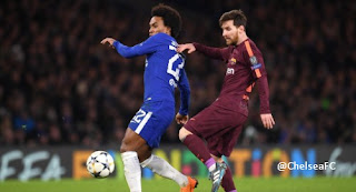 Video Gol Chelsea vs Barcelona 1-1 Liga Champions 21/2/2018