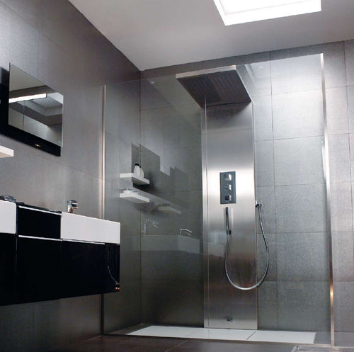 Mademoiselle i do for Salle de bain design douche italienne