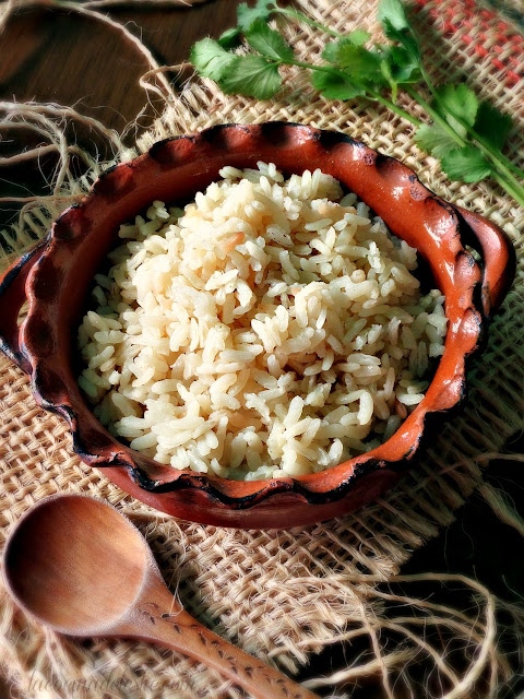Mexican White Rice - lacocinadeleslie.com