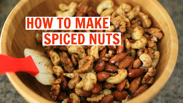 Spiced Nuts, Tanvii.com