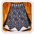 Falda Crochet Piñas