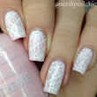 Bridal Lace Nails