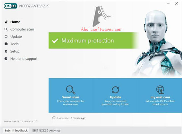 ESET NOD32 Antivirus  is the award-winning ESET Antivirus built for Windows–it includes antivirus, anti-phishing and cloud-powered scanning.