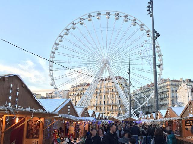 Feira de Satons em Marselha