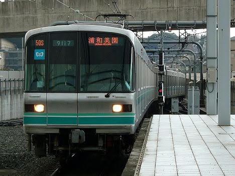 【昨年消滅!】東京メトロ9000系の浦和美園行き(種別なし)