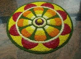 Flower Rangoli Design Images