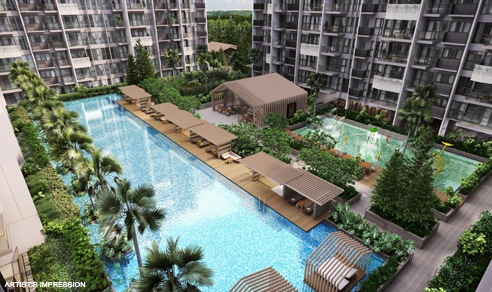 Alps Residences Pool