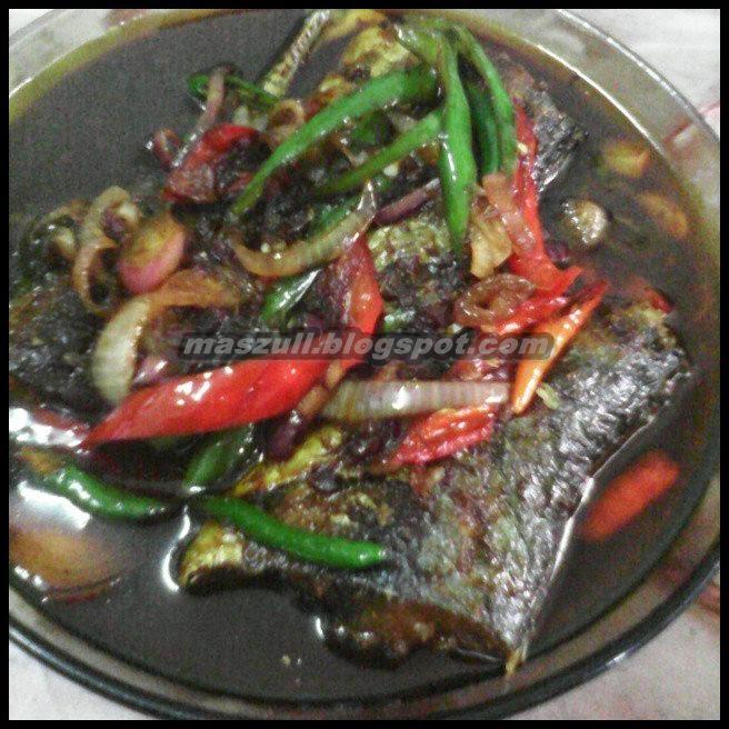 Resepi Ikan Cencaru Masak Kicap Pedas