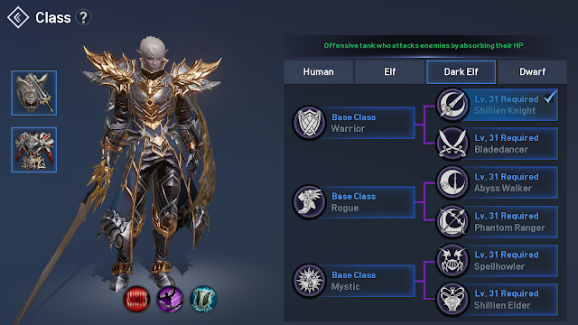 Race Dark Elf di Lineage 2 Revolution Indonesia