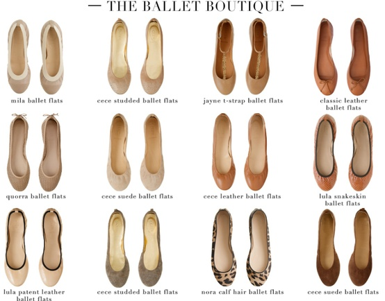Different Styles Of Flat Bottom Shoes