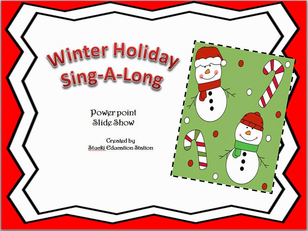 http://www.teacherspayteachers.com/Product/Winter-Holiday-Sing-A-Long-Power-Point-Slides-1346286