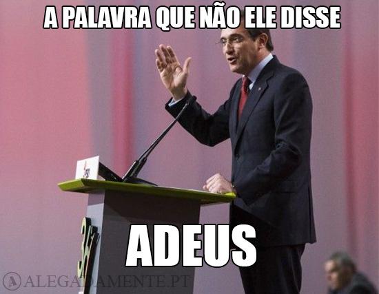 Imagem de Pedro Passos Coelho – A Palavra Que Ele Não Disse: ADEUS!