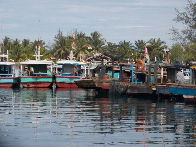 Serunya Liburan di Kampung Sejahtera, Pulau Baii