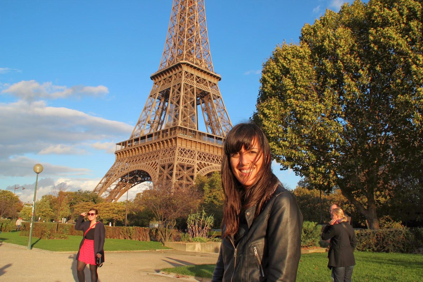 Yo en la Torre Eiffel
