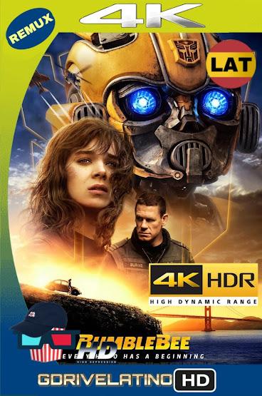 Bumblebee (2018) BDRemux 4K HDR Latino-Ingles MKV