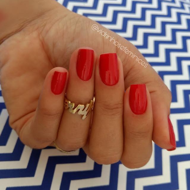 Coleção Risqué Mulher Maravilha - Vermelho Maravilha