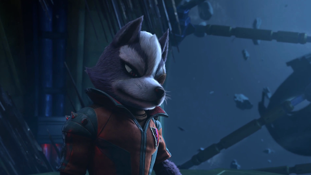 Wolf O'Donnell Starlink Battle for Atlas Star Fox Nintendo Switch cutscene