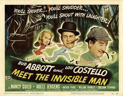 Abbott y Costello: Contra el hombre invisible 1951