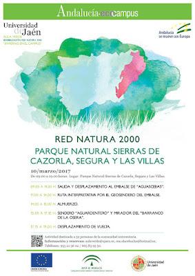 Cartel Ecocampus PN Cazorla, Segua y las Villas