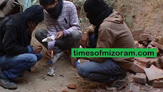 Drug-related deaths on the rise in Mizoram