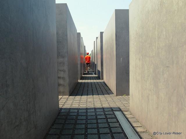 Berlin - Förintelsemonumentet
