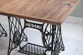 How to make a singer sewing machine table