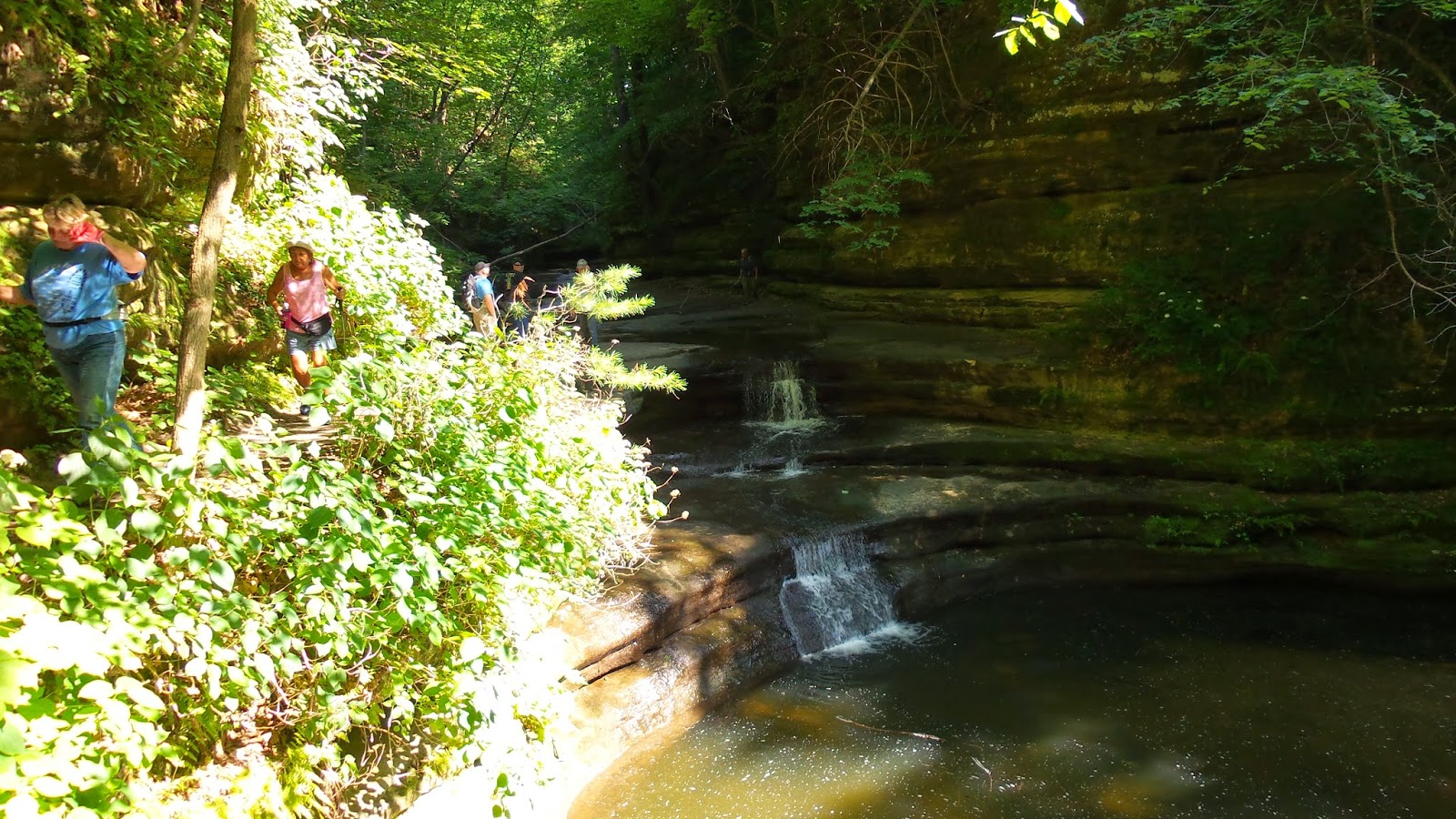 Hike Starved Rock July 10th Matthiessen State Park