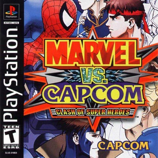 Download Game Marvel vs Capcom - Clash of the Super Heroes ...