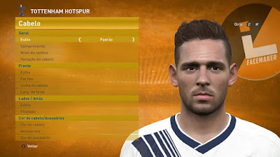 PES 2016 Vincent Janssen (Tottenham) face by Lucas Facemaker