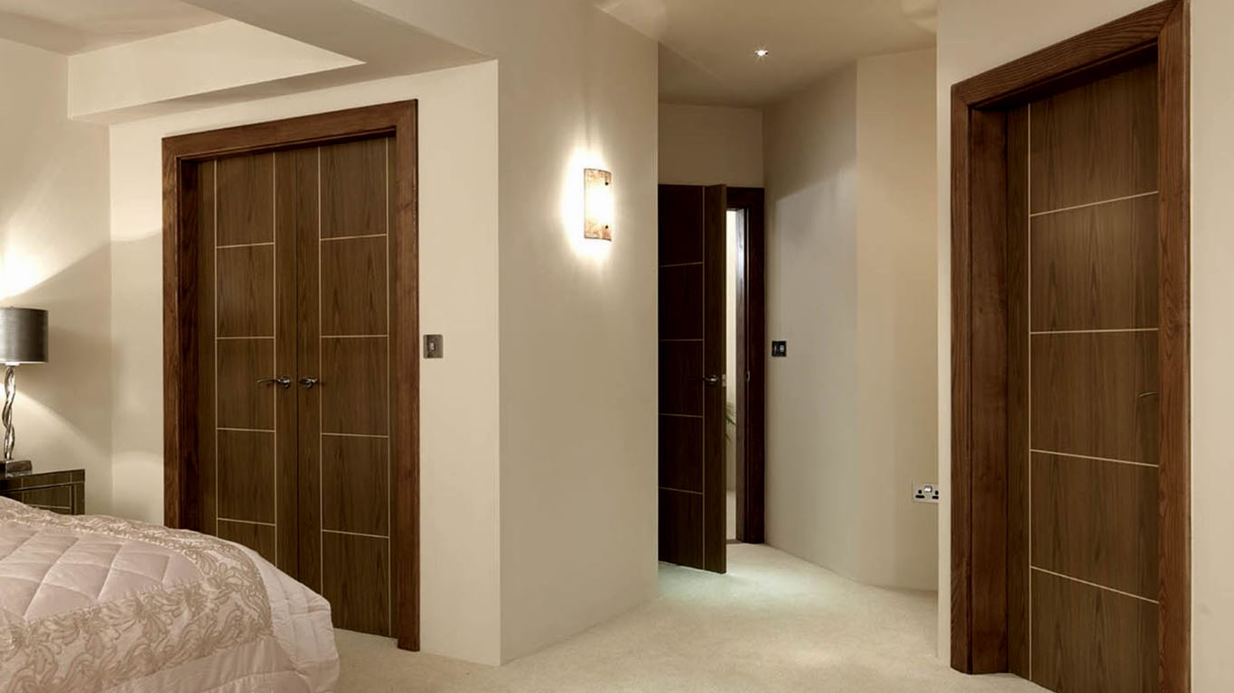 Choosing interior doors based on needs and positions