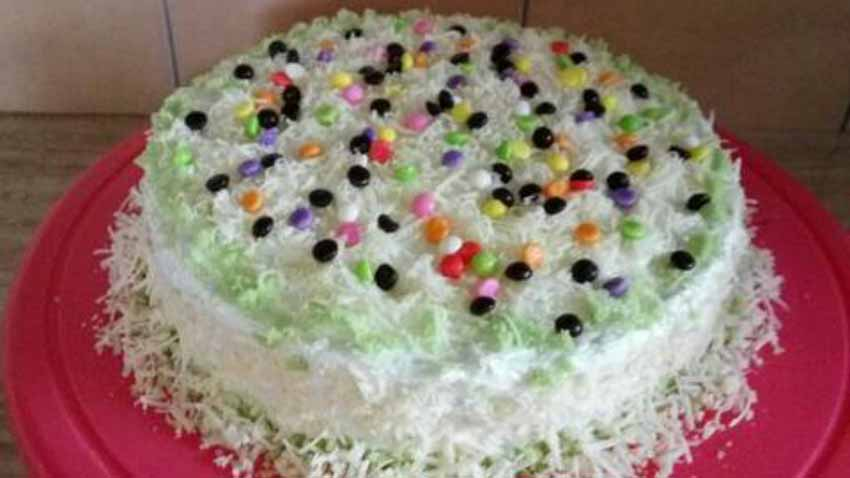 Resep Membuat Pandan Cake With Buttercream