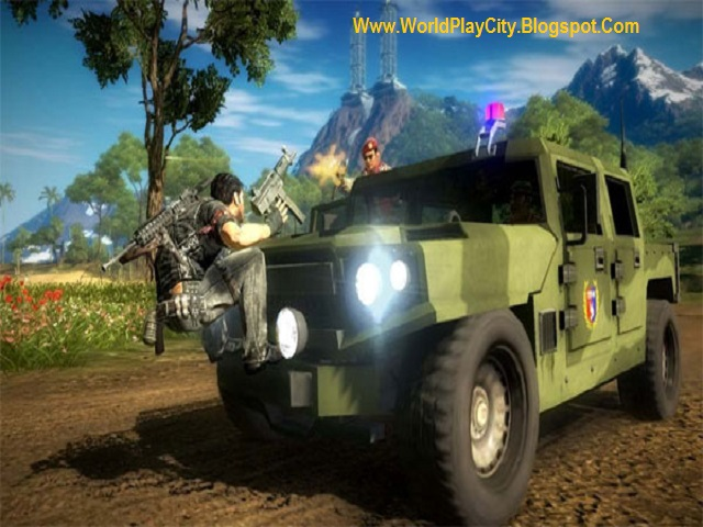 Just Cause 2 PC Game Highly Compressed Download
