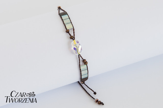 bransoletka handmade rękodzieło delikatna
