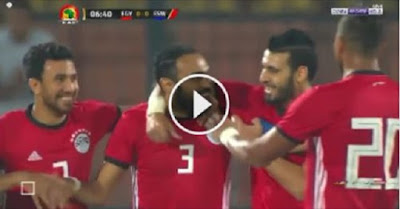 ملخص وأهداف مباراة مصر وسوازيلاند 4-1 فى تصفيات إفريقيا.. هدف خيالي من صلاح!