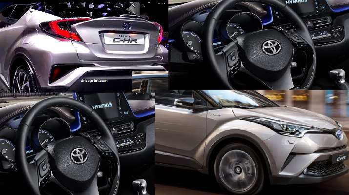 Toyota C-HR 2017 Interior and Exterior