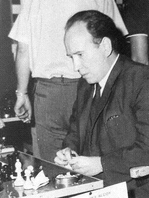 Díez del Corral en el encuentro de entrenamiento para la Olimpíada de Munich de 1958