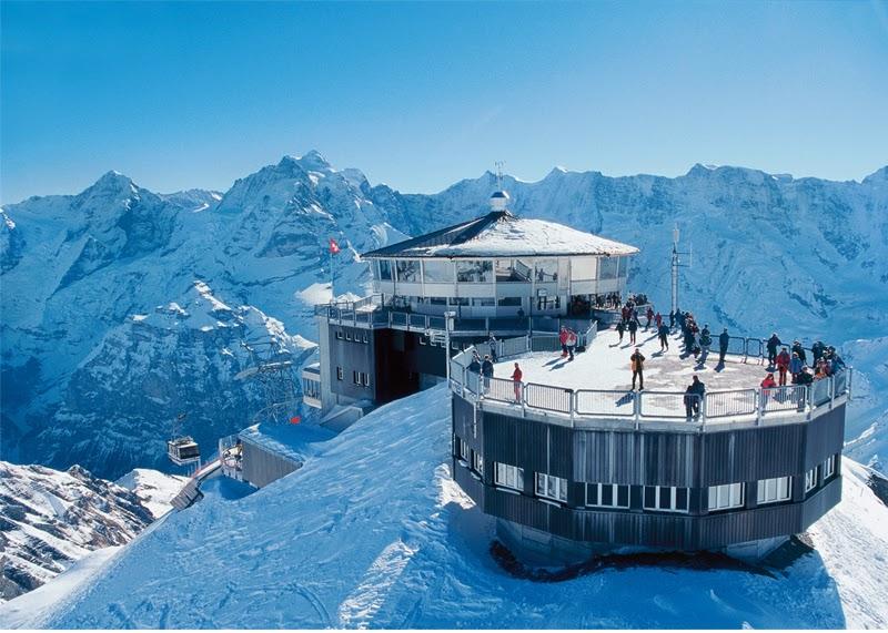 Stunning Images - Jungfrau Mountain Switzerland