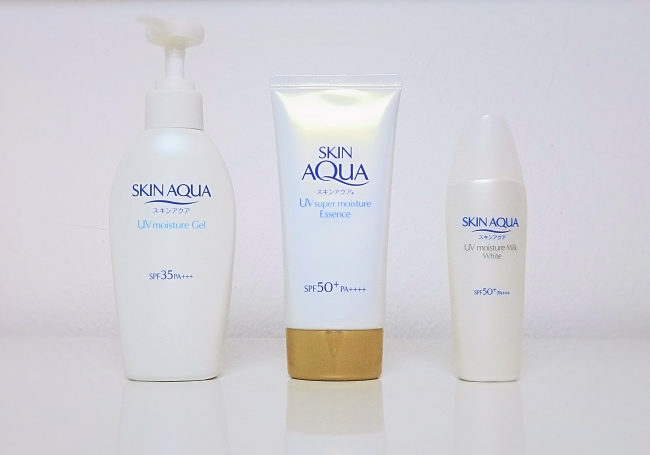 Skin Aqua Sunscreens review